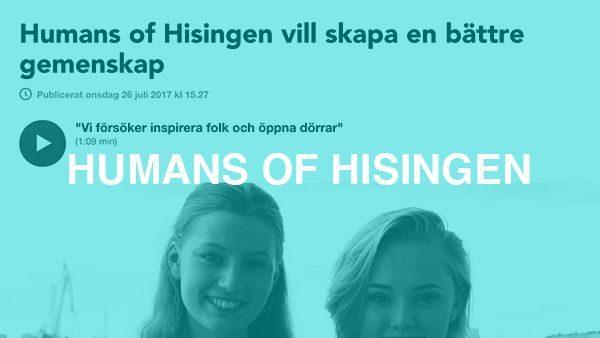 Reportageserien på sociala medier där människor från Hisingen delar sina stories