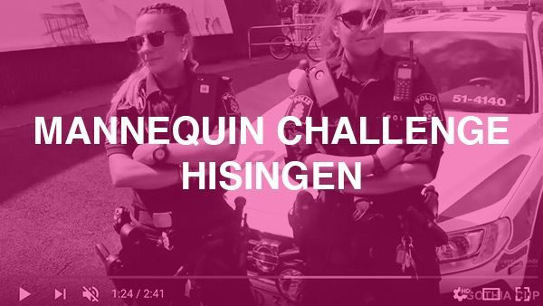 Är projektet som handlar om att representera Hisingens områden genom att göra en Mannequin Challenge
