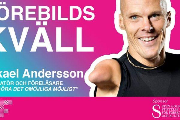 Förebildskväll med Mikael Andersson