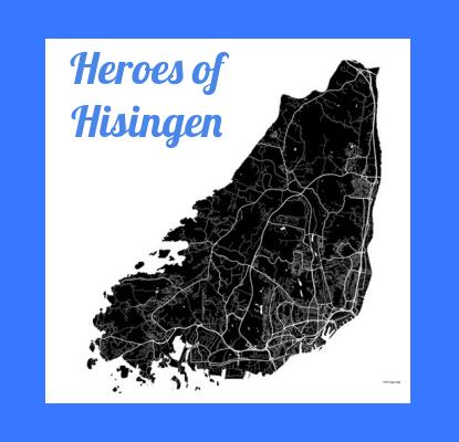 Heroes of Hisingen – Boken som lyfter Hisingens hjältar