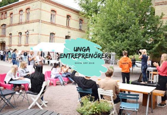 Unga Entreprenörer – Event där ungdomsdrivna projekt uppvisas för allmänheten