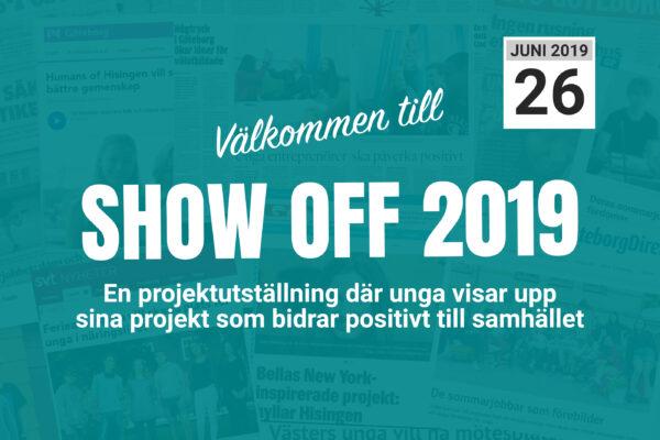 Välkommen på SHOW OFF 26 juni!