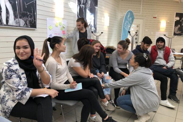 Camp-helg för Ung Ledare