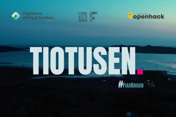 10.000kr från Openhack och Ingenjörer utan gränser