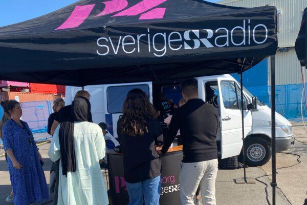 Alumner intervjuade i P4 Göteborg!